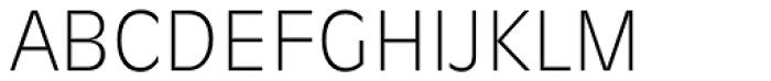 Ravenna Serial ExtraLight Font UPPERCASE