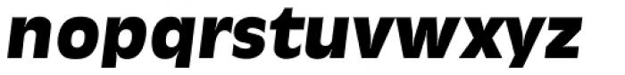 Ravenna Serial Heavy Italic Font LOWERCASE