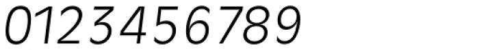 Ravenna Serial Light Italic Font OTHER CHARS