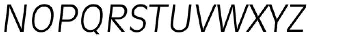 Ravenna Serial Light Italic Font UPPERCASE