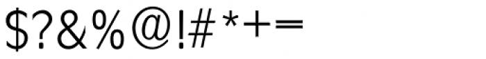 Ravenna Serial Light Font OTHER CHARS