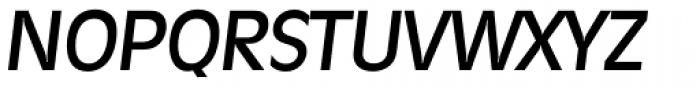 Ravenna Serial Medium Italic Font UPPERCASE