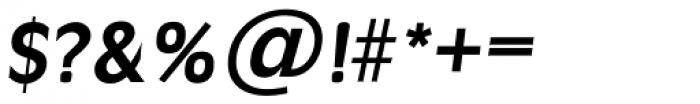 Ravenna TS DemiBold Italic Font OTHER CHARS
