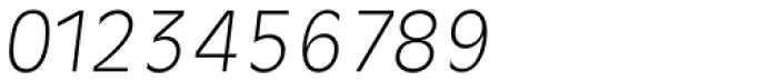 Ravenna TS ExtraLight Italic Font OTHER CHARS
