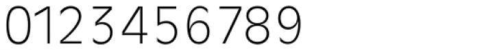Ravenna TS ExtraLight Font OTHER CHARS