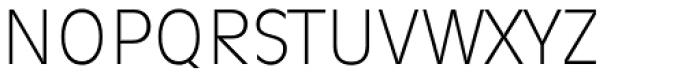 Ravenna TS ExtraLight Font UPPERCASE