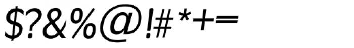 Ravenna TS Italic Font OTHER CHARS