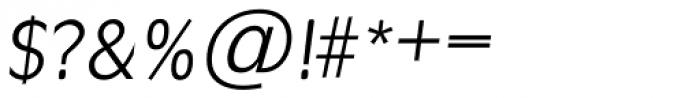 Ravenna TS Light Italic Font OTHER CHARS