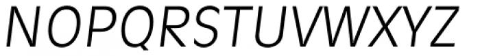 Ravenna TS Light Italic Font UPPERCASE