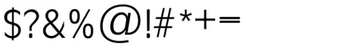 Ravenna TS Light Font OTHER CHARS
