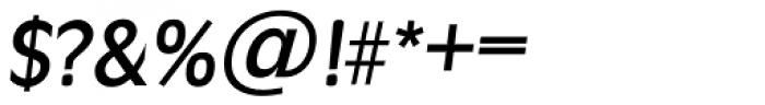 Ravenna TS Medium Italic Font OTHER CHARS