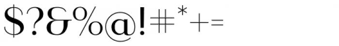 Ravensara Sans Medium Font OTHER CHARS