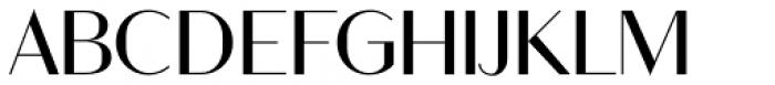 Ravensara Sans Medium Font UPPERCASE