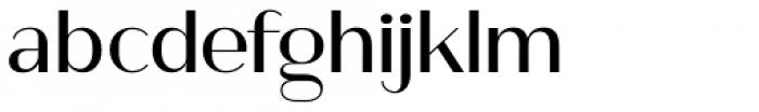 Ravensara Sans Medium Font LOWERCASE
