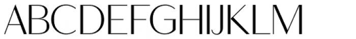 Ravensara Sans Regular Font UPPERCASE