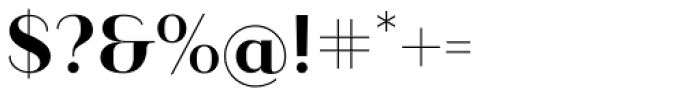 Ravensara Sans Semi Bold Font OTHER CHARS
