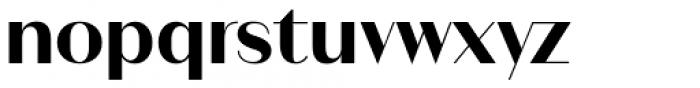 Ravensara Sans Semi Bold Font LOWERCASE