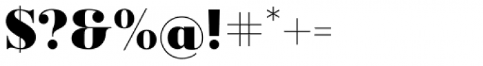 Ravensara Serif Bold Font OTHER CHARS