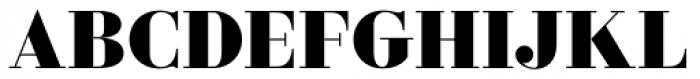 Ravensara Serif Bold Font UPPERCASE