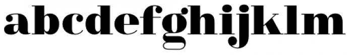 Ravensara Serif Bold Font LOWERCASE