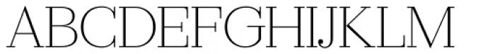Ravensara Serif Light Font UPPERCASE