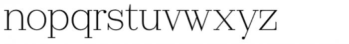 Ravensara Serif Light Font LOWERCASE