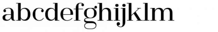 Ravensara Serif Medium Font LOWERCASE
