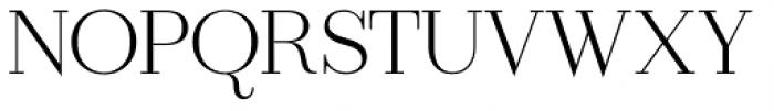 Ravensara Serif Regular Font UPPERCASE