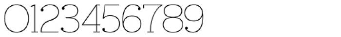Ravensara Serif Thin Font OTHER CHARS