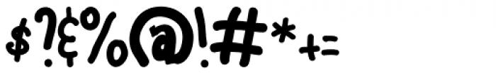 Ravioli Regular Font OTHER CHARS