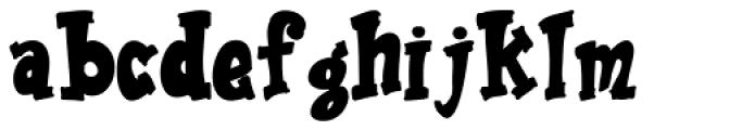 Ravioli Regular Font LOWERCASE