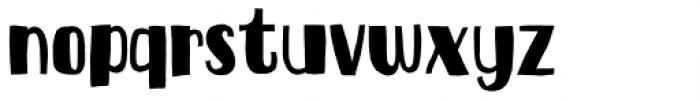 Ravishing Regular Font LOWERCASE