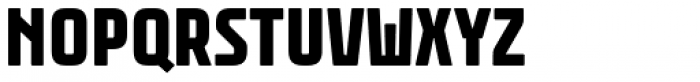 Rawer Condensed Heavy Font UPPERCASE