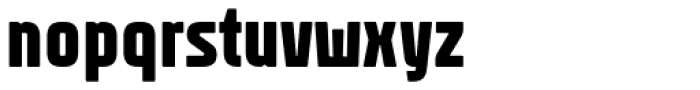 Rawer Condensed Heavy Font LOWERCASE