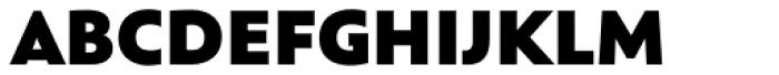 Rawson Pro Extra Black Font UPPERCASE