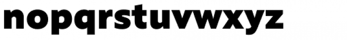 Rawson Pro Extra Black Font LOWERCASE