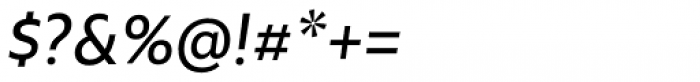 Rawson Pro Medium Italic Font OTHER CHARS