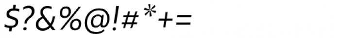 Rawson Pro Regular Italic Font OTHER CHARS