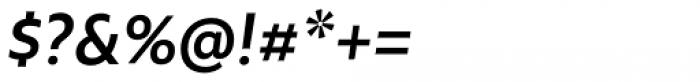 Rawson Semi Bold Italic Font OTHER CHARS