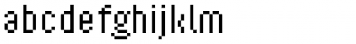 Ray Two Font LOWERCASE