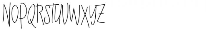 Raymod Colin Family Regular 2 Font UPPERCASE