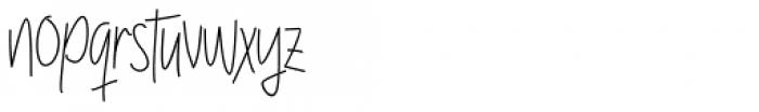 Raymod Colin Family Regular 2 Font LOWERCASE