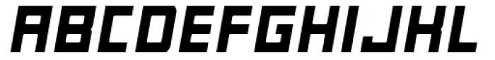Razorsuite ExtraBold Oblique Font UPPERCASE