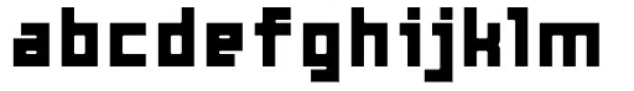 Razorsuite ExtraBold Font LOWERCASE