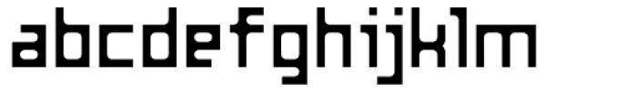 Razorsuite Regular Font LOWERCASE