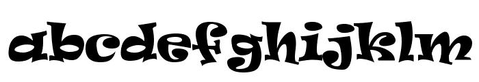 Ravie Font LOWERCASE