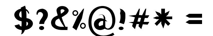RaggleBold Font OTHER CHARS
