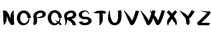 RaggleBold Font UPPERCASE