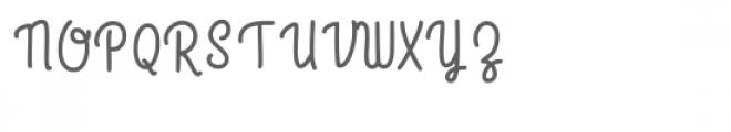 raspberry font Font UPPERCASE