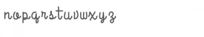 raspberry font Font LOWERCASE